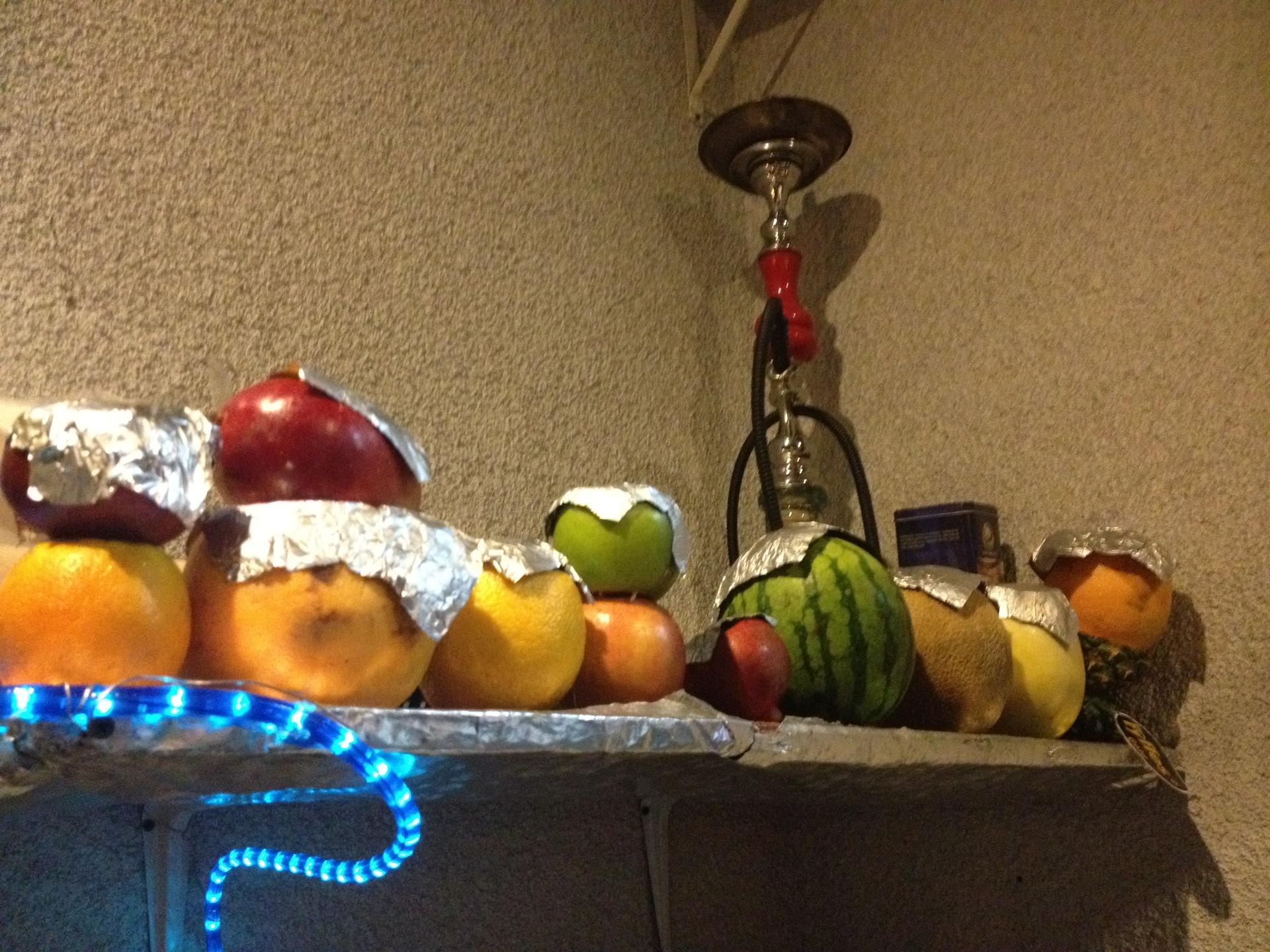 Fruit head hookahs